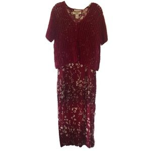 Norton McNaughton Vintage Floral Dress